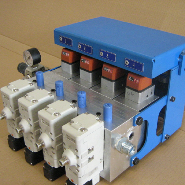 Lubrificazione volumetrica motorizzata
